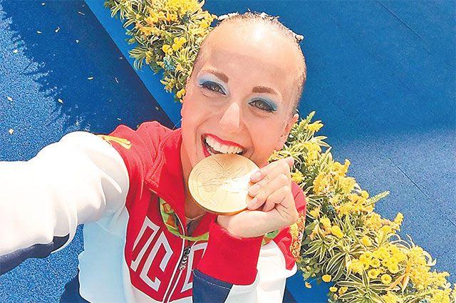 Олимпийская чемпионка Мария Шурочкина вюности занималась плаванием вбассейне  вНово-Переделкине.
