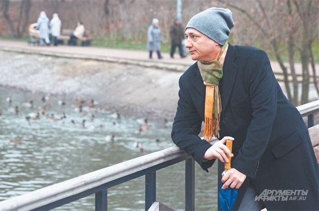Мещерский парк – любимое место для размышлений и прогулок для Вадима Пономарёва.