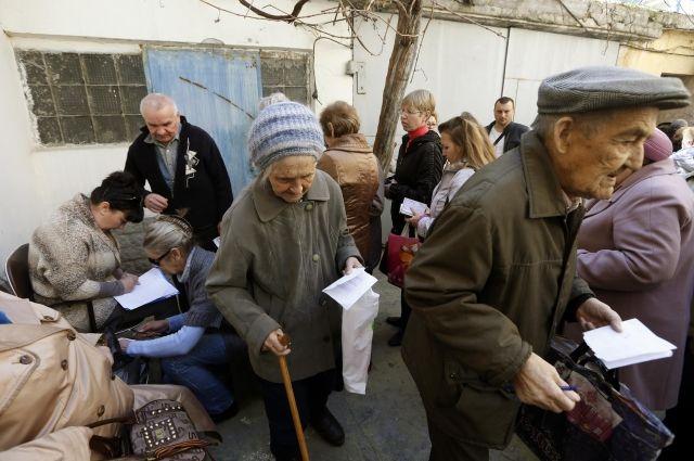Пенсия жителям Донбасса: законно ли получение выплат с двумя паспортами