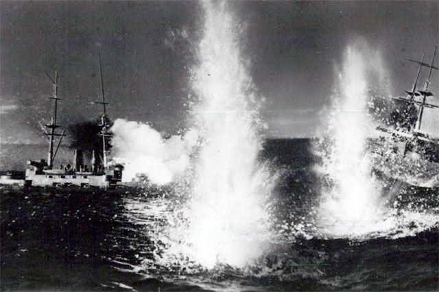Сражение за Порт-Артур.
