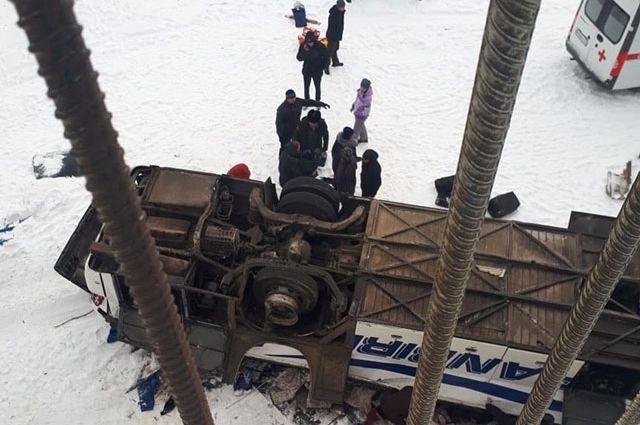 В Забайкалье установили личности всех жертв ДТП с автобусом