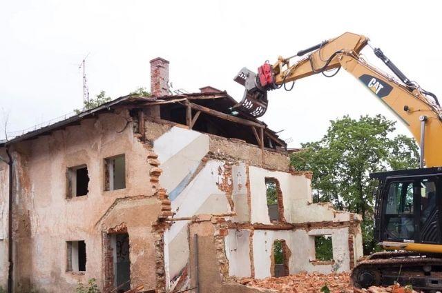 92% здания разобрали в 2009 году, остальные 8% - в 2018-м.