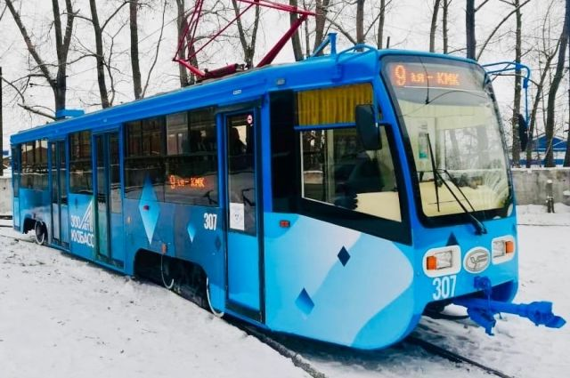 В техническом плане московские трамваи более совершенны.