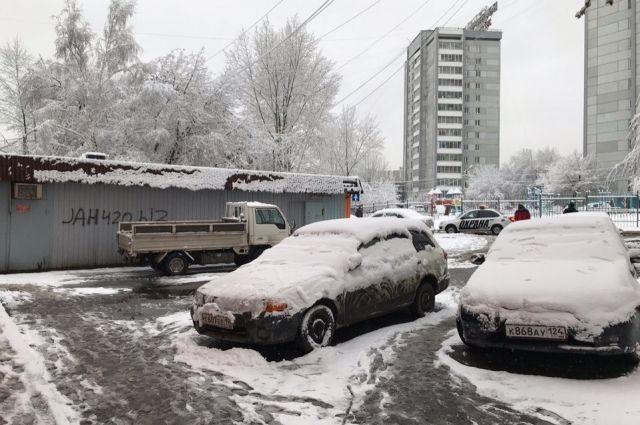 Ясная погода сменится снегопадами.