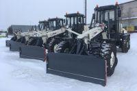 В Новом Уренгое парк дорожной техники пополнился новыми автогрейдерами