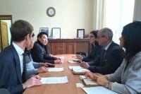 В департаменте природных ресурсов и экологии Кемеровской области прошла встреча с представителями южнокорейской компании GREEN CHEMTECH CO., LTD.