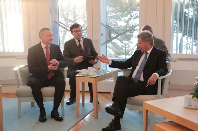 Александр Беглов отметил, что в Петербурге работают более 400 финских компаний.