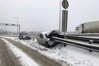 В результате ДТП пострадал пассажир.