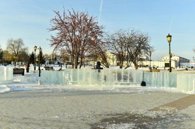 В Тобольске ледовый городок украсят персонажи сказки «Конек-горбунок»