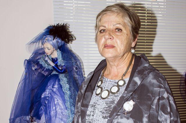 Елена Чеснокова: «Кукла «Зимняя Ночь» родилась из кусочка тряпочки».