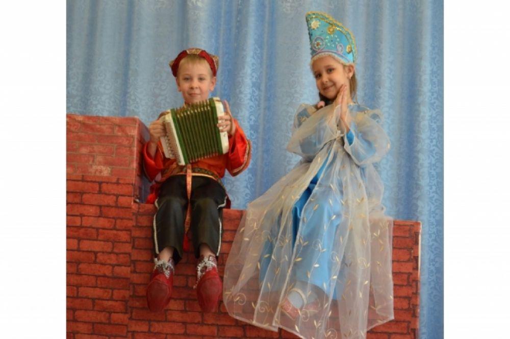 Театральная студия «Нескучайка», детсад №74, Иркутск