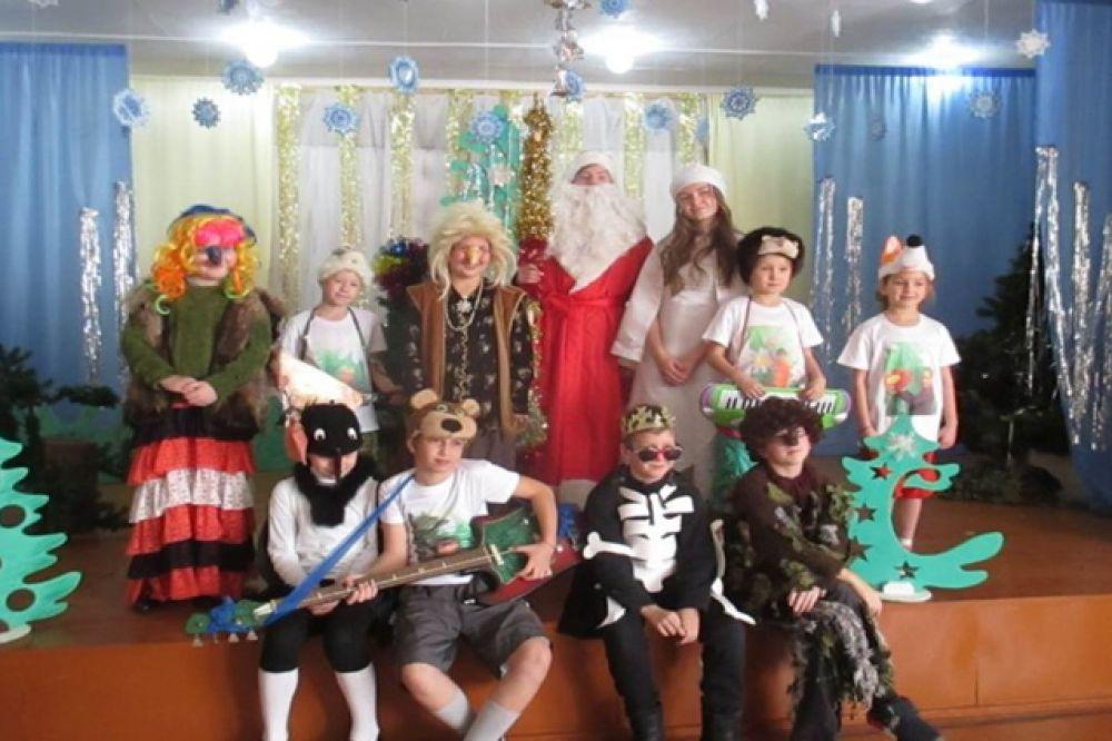 Малоголоустненский детский самодеятельный театр «Этюд»