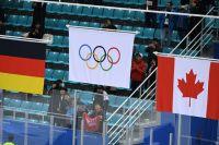 На Олимпиаде-2018 Россия выступала под нейтральным флагом.