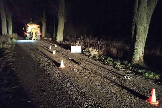 В Правдинском районе пешеход погиб под колёсами КамАЗа дорожников