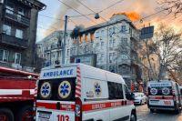 В Одесской ОГА озвучили вероятную причину пожара в колледже: что известно