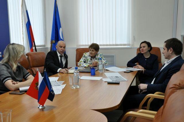В Оренбурге выдвинуто предложение о начале  совместной работы проектов «Здоровое будущее» и «Народный контроль».