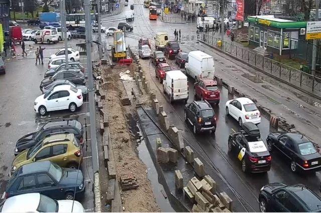 Отменены маршруты общественного транспорта, введённые на время ремонта ул. Киевской