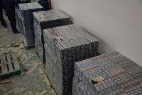 Пограничники предотвратили рекордную партию контрабанды сигарет из России