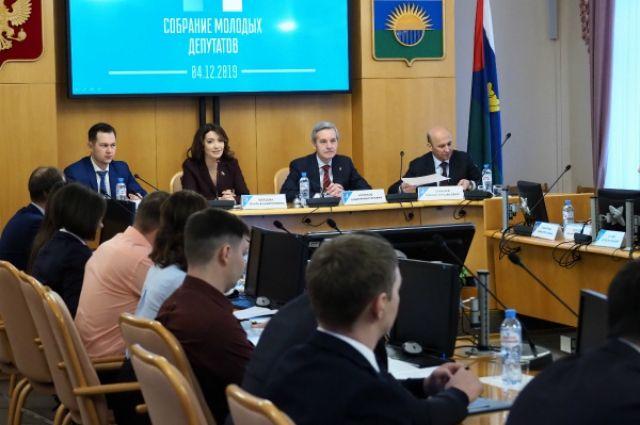 Обновился состав Собрания молодых депутатов при Тюменской облдуме