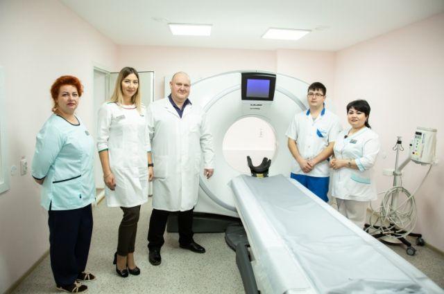 В больнице Лангепаса состоялось открытие кабинета компьютерной томографии