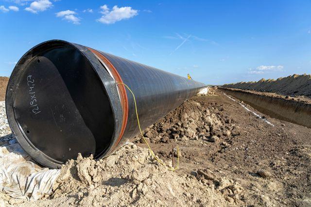 Сербы строят по 6 километров трубы в сутки.