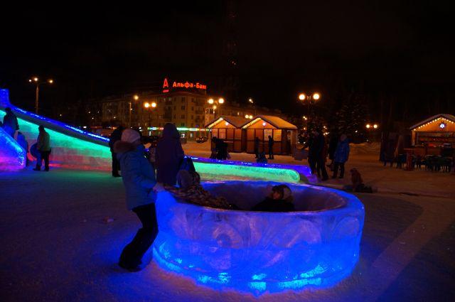Ледовый городок в Ижевске будет посвящен 100-летию Удмуртии