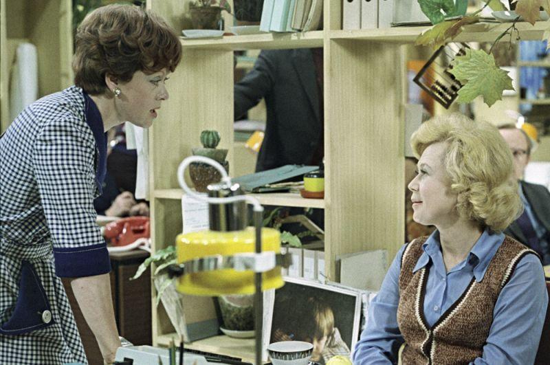 Алиса Фрейндлих в фильме «Служебный роман» (1977).