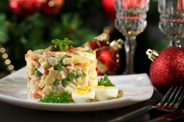 Символ Нового года: какой был настоящий рецепт салата Оливье