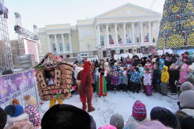 В Тюмени на площади 400-летия 21 декабря зажгут огни главной елки