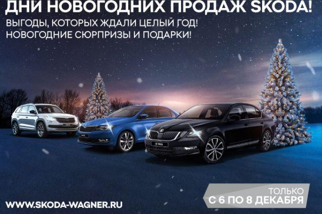 Реализация склада автомобилей 2019 года с 6 по 8 декабря в праздничной атмосфере нового года и рождества.