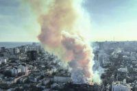Пожар в одесском колледже экономики и управления: погибли четыре человека