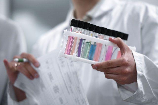 Пробирки спробами вНациональной антидопинговой лаборатории.