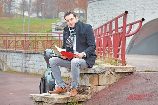 Виолончелист считает родное Тропарёво самым зелёным районом города.