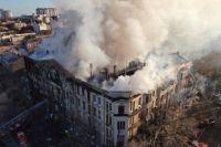 Пожар в Одессе: в полиции рассказали о подозреваемых