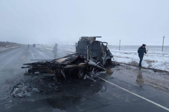 В ДТП четверо пострадавших и четверо погибших.