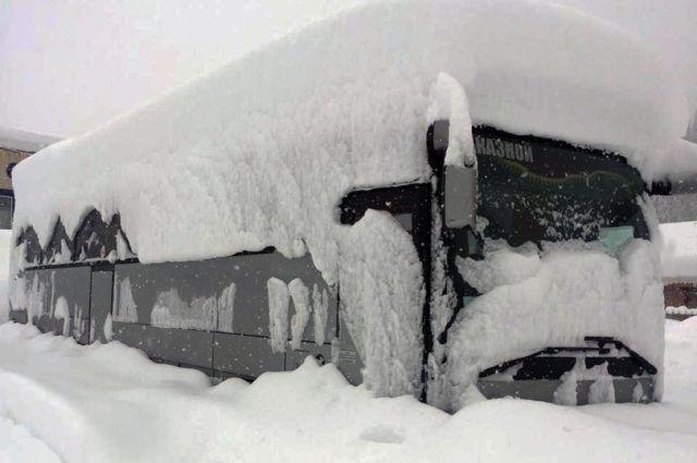 Осадки на горнолыжном курорте превысили норму.