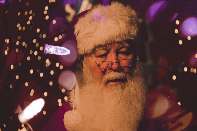 Тюменцы нарисуют бороду Деда Мороза