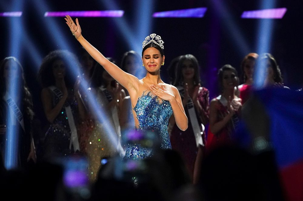 Обладательница титула «Мисс Вселенная-2018» Катриона Грей из Филиппин.