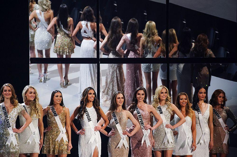 Финалистки конкурса «Мисс Вселенная-2019».