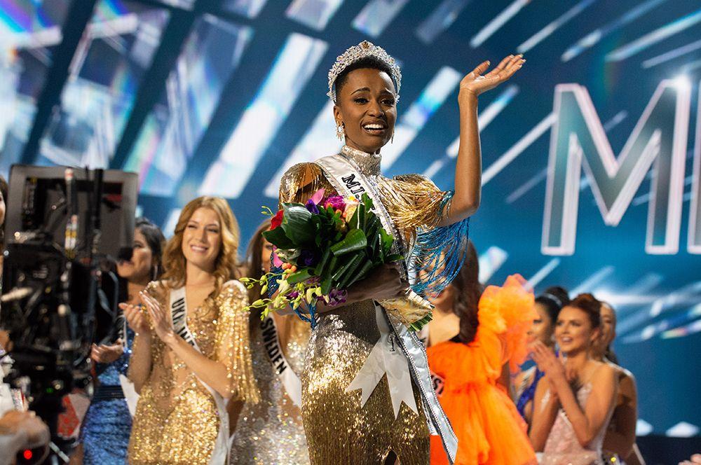 «Мисс Вселенная-2019» — Зозибини Тунзи.