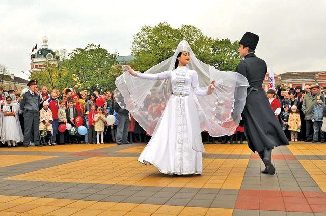 Празднование Нового года традиционно проводят в Майкопе.