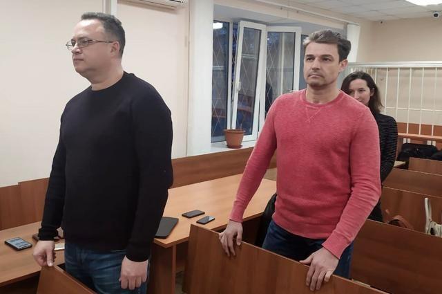 Во время вынесения приговора Марат Гареев и Александр Филиппов (слева направо) были спокойны.