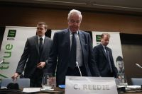 Президент Всемирного антидопингового агентства (ВАДА) Крейг Риди напресс-конференции поитогам заседания исполнительного комитета Всемирного антидопингового агентства (ВАДА).