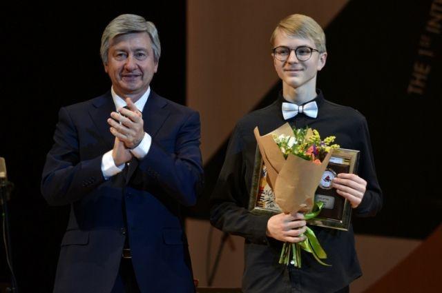 Уроженец г. Кораблино Рязанской области Роман Соснин стал обладателем второй премии в младшей группе