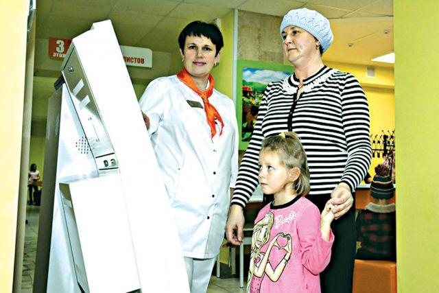 «Бережливые технологии» пришли в поликлинику областной детской больницы.