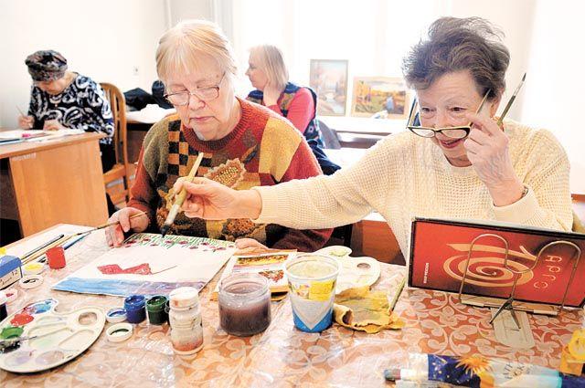 В крае сейчас более 1100 кружков и клубов по интересам для пенсионеров.