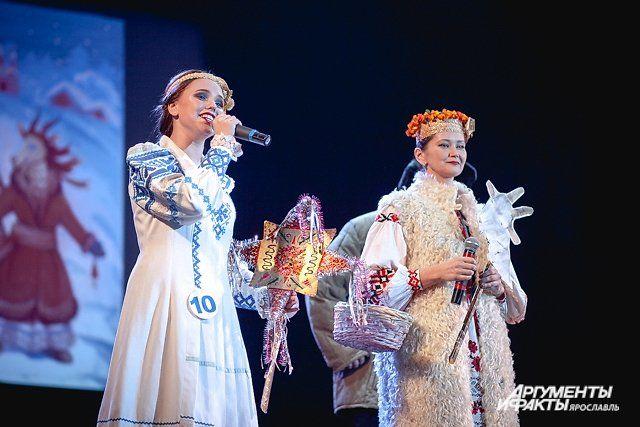 Лариса Соколова (слева), представлявшая белорусскую культуру, заняла первое место.