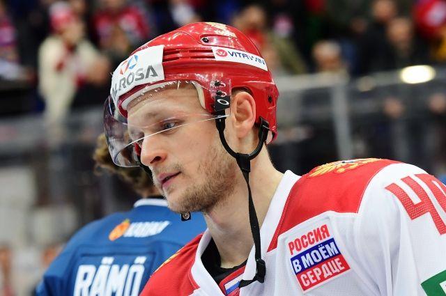 Капитаном российских хоккеистов на Кубке Первого канала стал Евгений Кетов