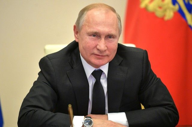 Песков сомневается, что Путин будет смотреть сериал «Слуга народа»
