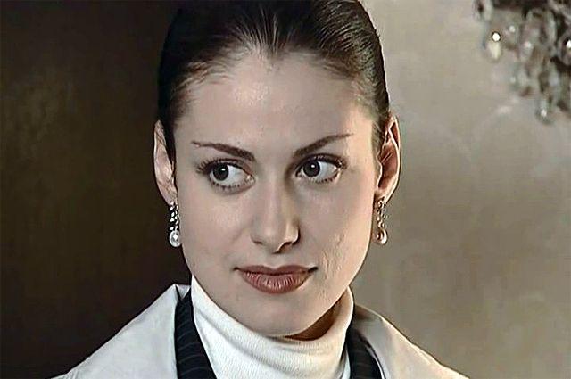 Анна Ковальчук в сериале «Тайны следствия».
